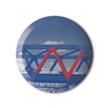Gift Box: 4 button badges (Big Letter Hunt)