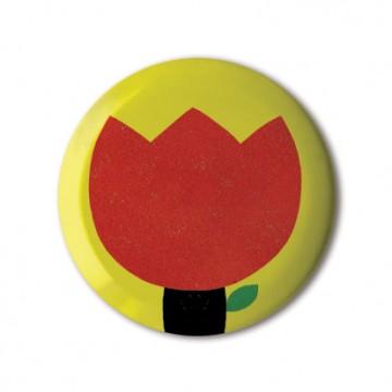 Gift Box: 4 button badges (Flower Kingdom)