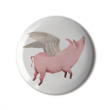 Gift Box: 4 button badges (Valentine's Mix)