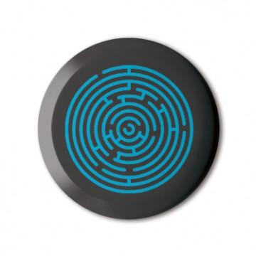 Gift Box: 4 button badges (Love Maze)