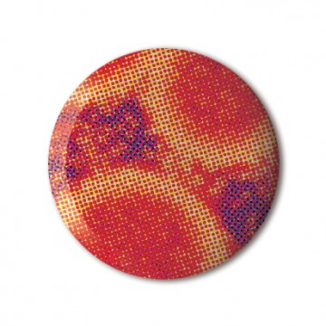 Gift Box: 4 button badges (Microscope)