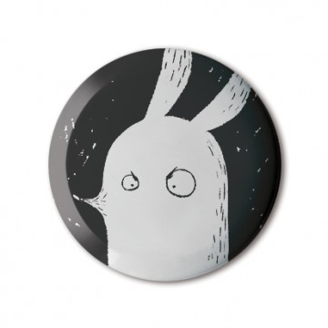 Gift Box: 4 button badges (Bunnies)
