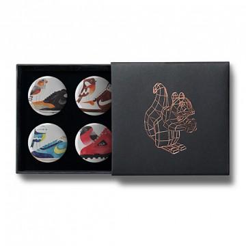 Gift Box: 4 button badges (Matt's AFOMFS)