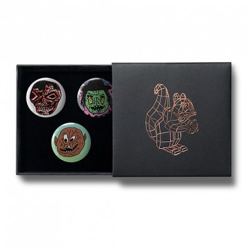 Gift Box: 3 button badges (Halloween)
