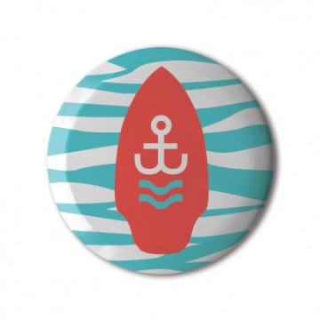 Gift Box: 4 button badges (Ahoi)