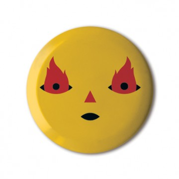 Gift Box: 3 button badges (Fire)