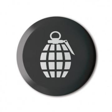 Gift Box: 4 button badges (Silhouettes)
