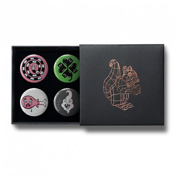 Gift Box: 4 button badges (Tamar Mix)