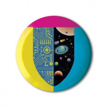 Gift Box: 3 button badges (Mervyn Mix)