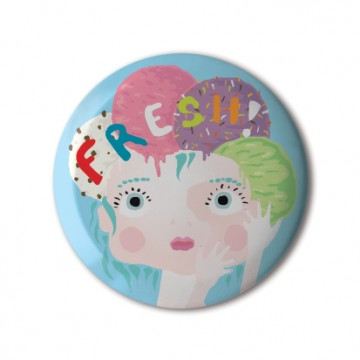 Gift Box: 4 button badges (Tasty)