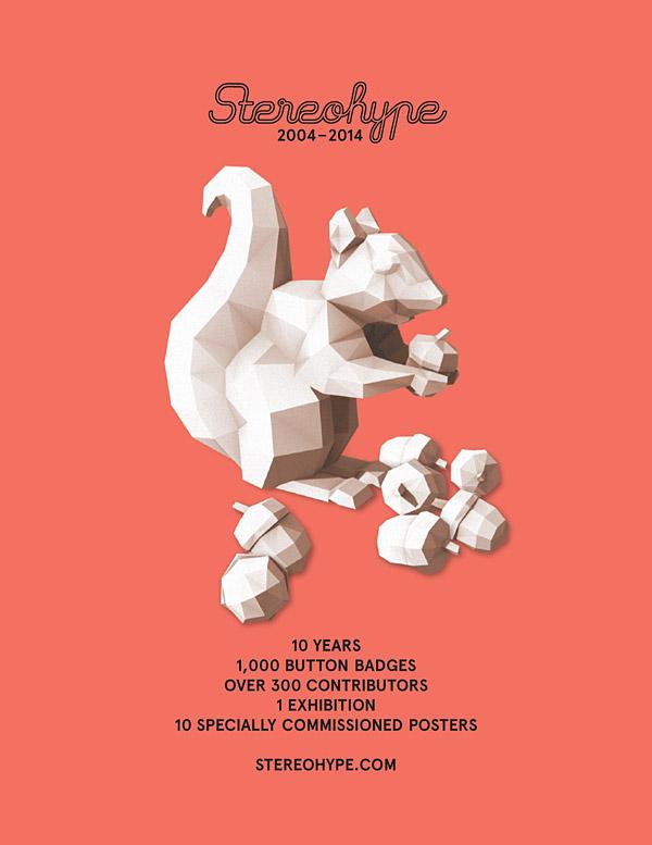 Stereohype exhibition invite