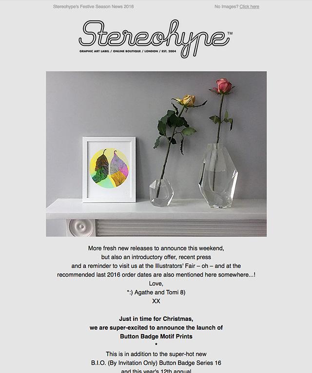 Stereohype's Festive Season News 2016