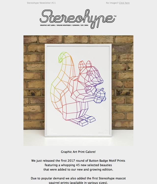 Stereohype Newsletter #11