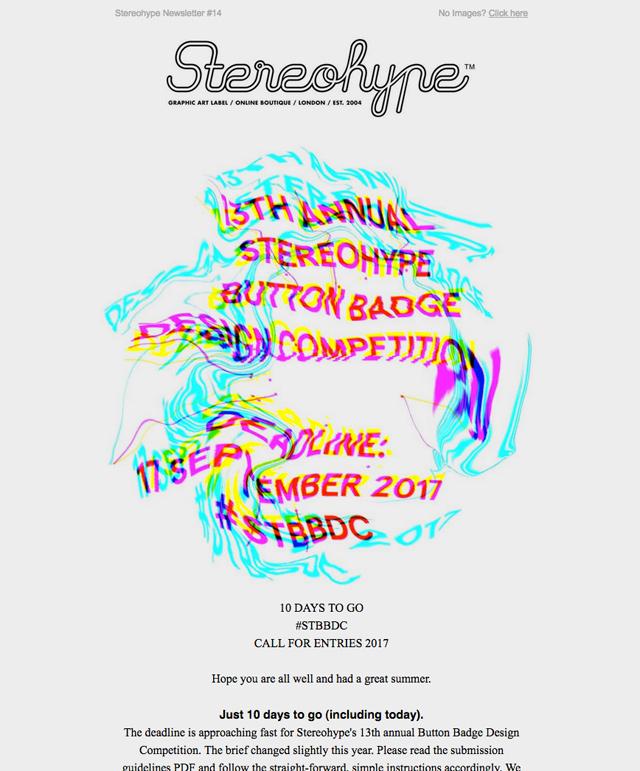 Stereohype Newsletter #14