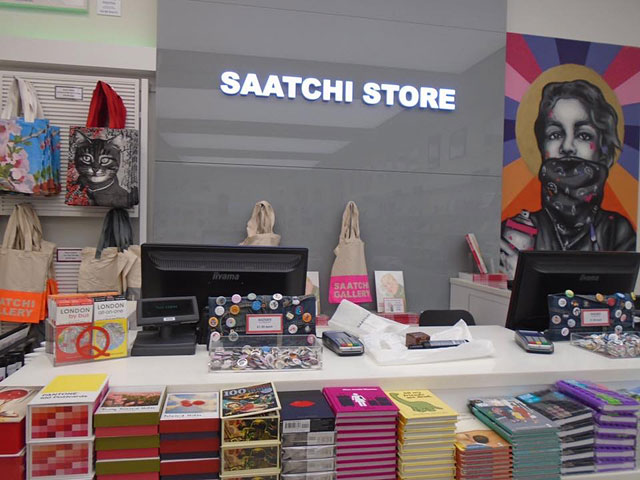 Saatchi Store Pick 'N' Mix Till Display