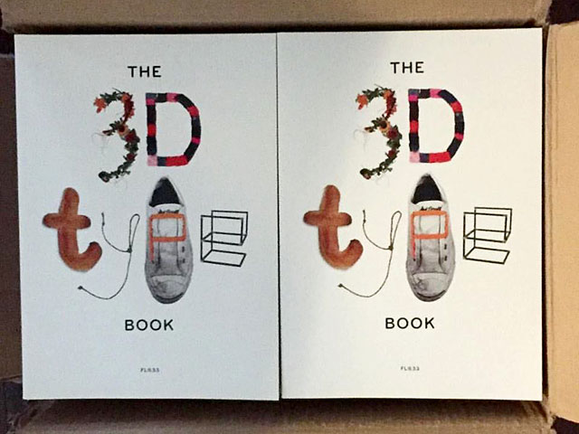 The 3D Type Book, mint US copies just in