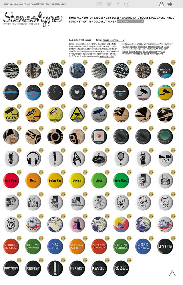 78 B.I.O. Series 18 additions