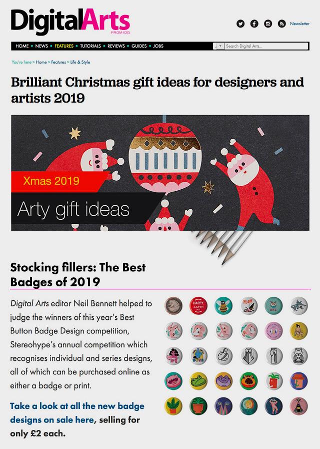 Digital Arts Christmas Gift Ideas 2019