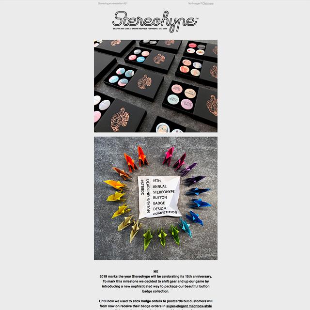Stereohype Newsletter 21