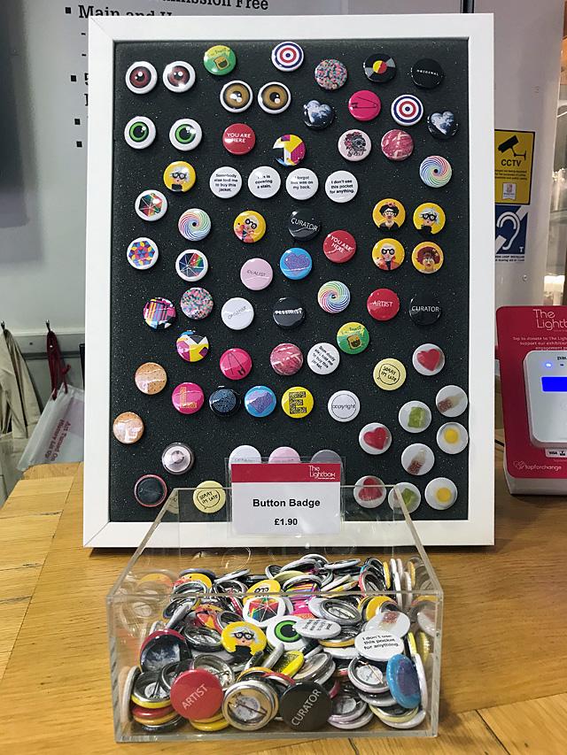 The Lightbox Pick 'N' Mix display