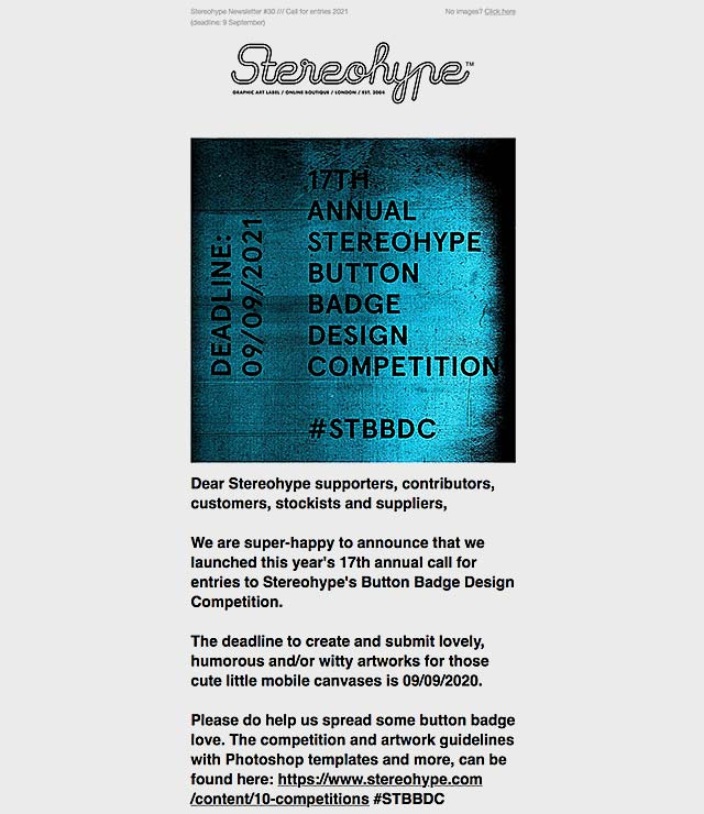 STBBDC 2021 Call For Entries and Newsletter 30