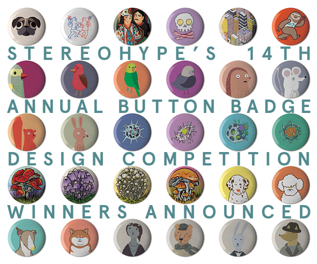Stereohype Button Badge Design Competition 2018
