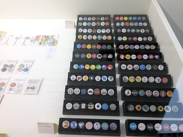 Vitrine at Stereohype 2004–2014 exhibition