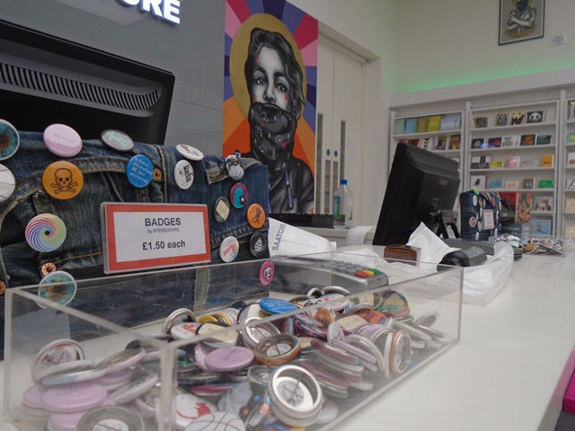 Pick 'N' Mix Stereohype displays, Saatchi Store, London