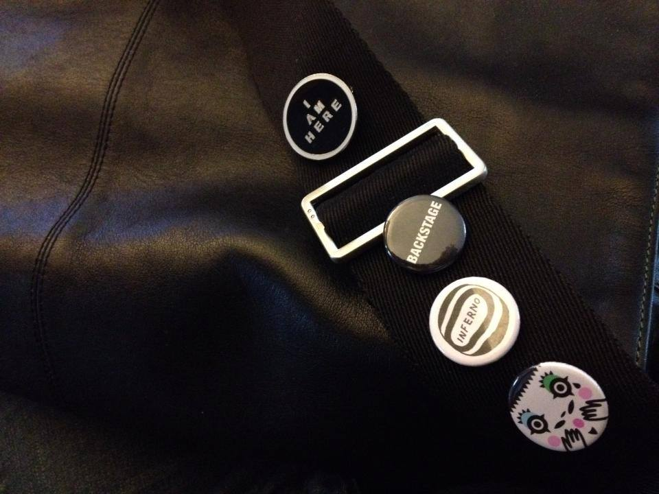 Badges for your bag